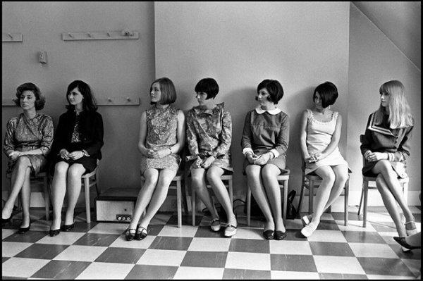 Естественная красота девушек из 70-х