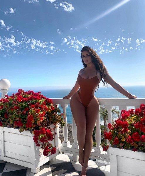 Анастасия Квитко - главный Instagram-конкурент Ким Кардашьян