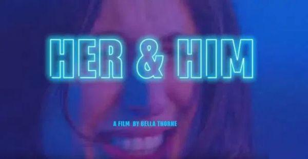 Звезда студии Disney Белла Торн, получила награду Pornhub