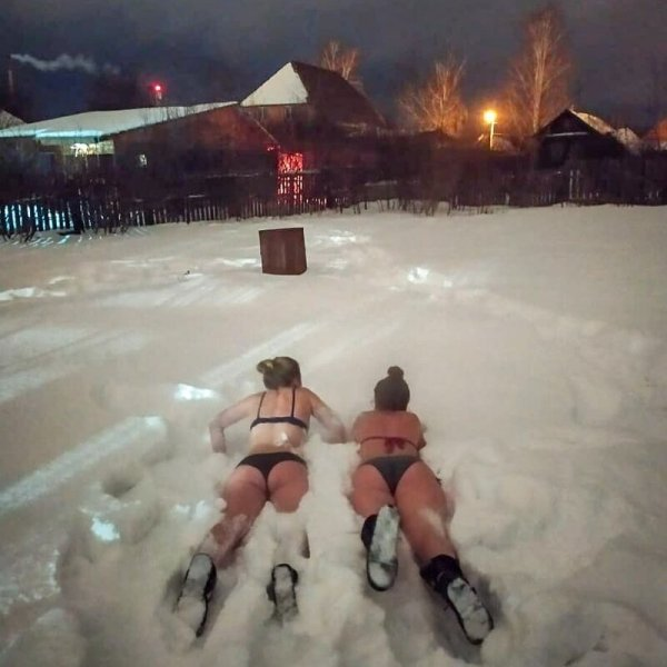 Девушки-моржи 2020. Про тех, кто начал этот год с закаливани