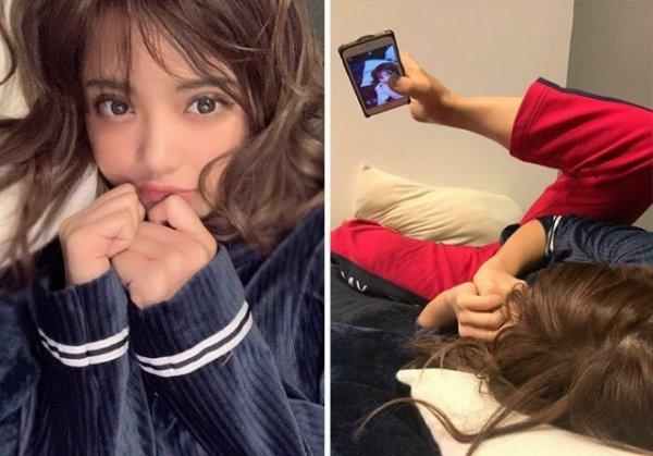 Тайская модель показала, что остается за фотографиями в Instagram