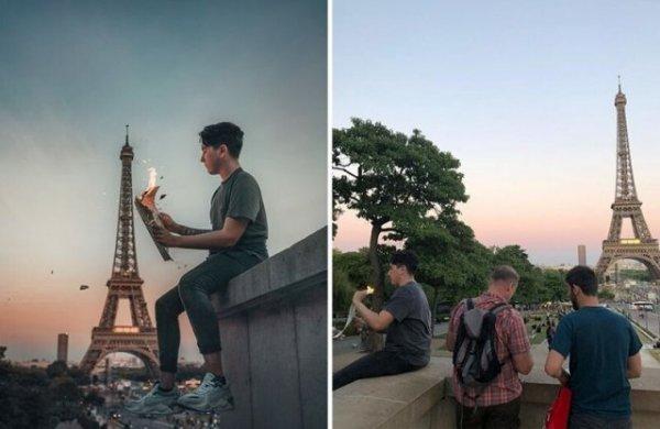 Фотограф показал, что скрывается за красивыми фотографиями