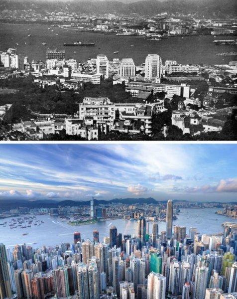 Красноречивые фотографии о том, как быстро меняется мир
