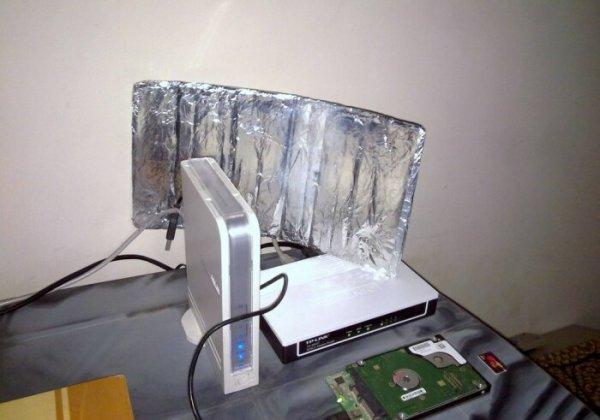 Действительно ли фольга на Wi-Fi роутере усиливает сигнал