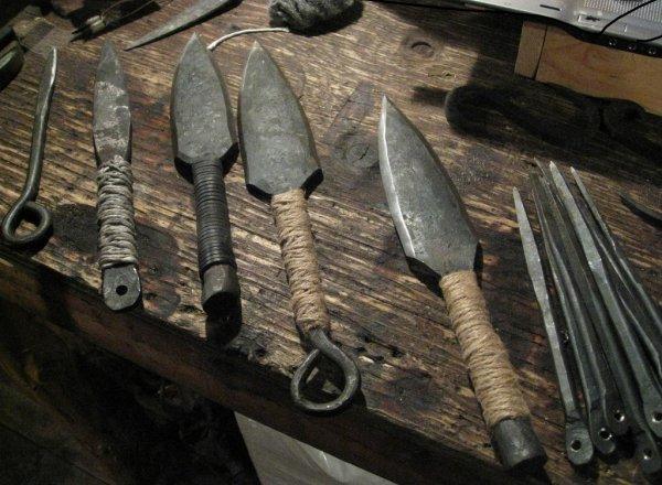Смертельное и прекрасное оружие из арсенала ниндзя