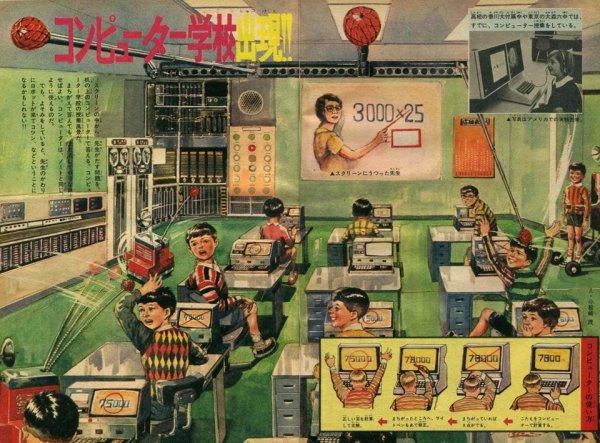 Как в прошлом видели будущее: интересные рисунки из XX века