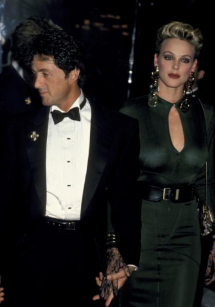 Рэмбо и Амазонка: редкие фото Сильвестра Сталлоне и Бригитты Нильсен, сделанные во время их недолгого брака
