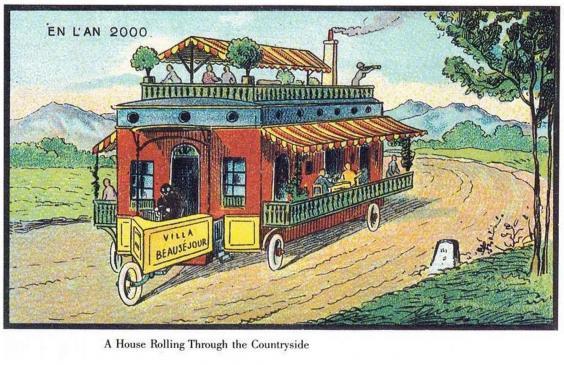 Как люди представляли будущее 120 лет назад